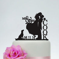 Personalized Wedding Cake Topper - SALE LAB