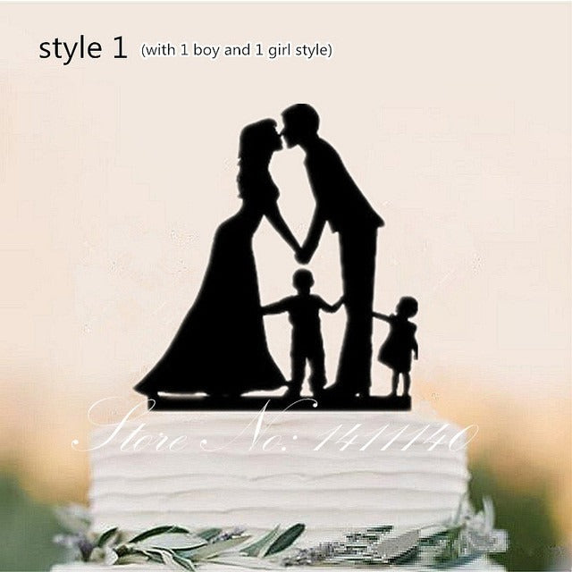 Family Style Cake Topper - SALE LAB