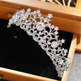 Crystal Bridal Crown - SALE LAB