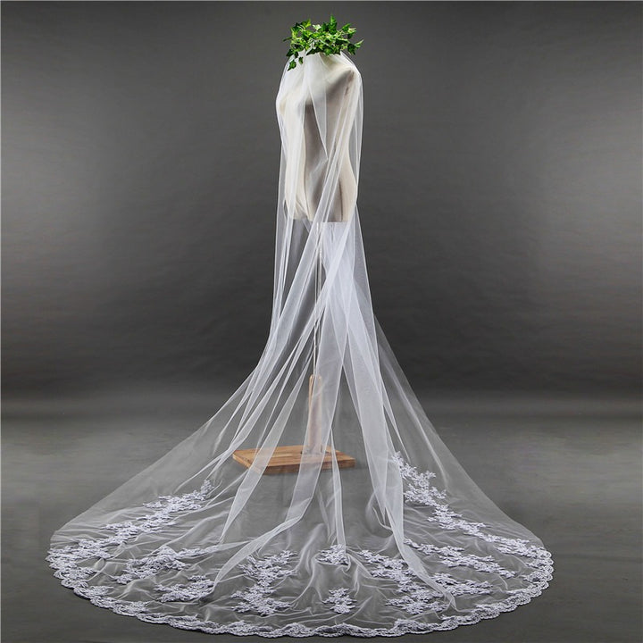 3 Meters Cathedral Wedding Veil - SALE LAB