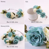 Flowers Headband - SALE LAB