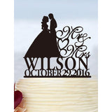 Bride & Groom Custom Cake Topper - SALE LAB