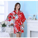 Floral Bridal Party Robe - SALE LAB