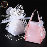 50 Laser  Angel Wedding Favor Box - SALE LAB