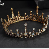 Baroque Vintage Crystal Crown - SALE LAB