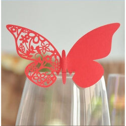 50 Pcs Butterfly Place Card - SALE LAB