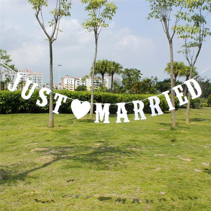 Just Married Banner - SALE LAB
