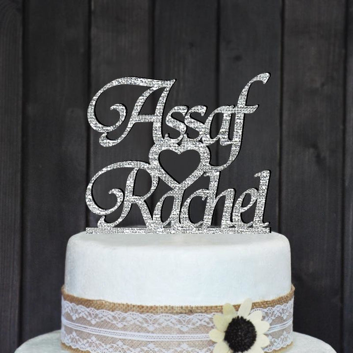 Personalized Names Cake Topper - SALE LAB