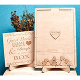 Wedding Guest Book Shadow Box - SALE LAB