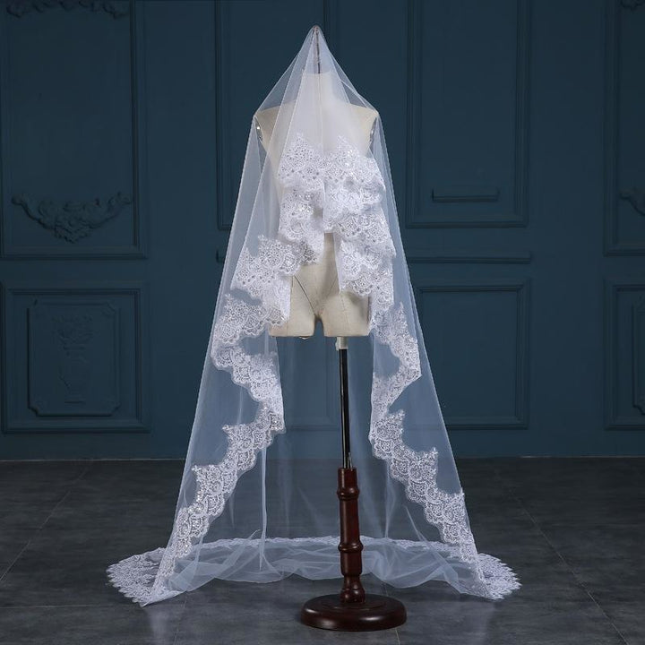 Cathedral Sequins Veil - SALE LAB
