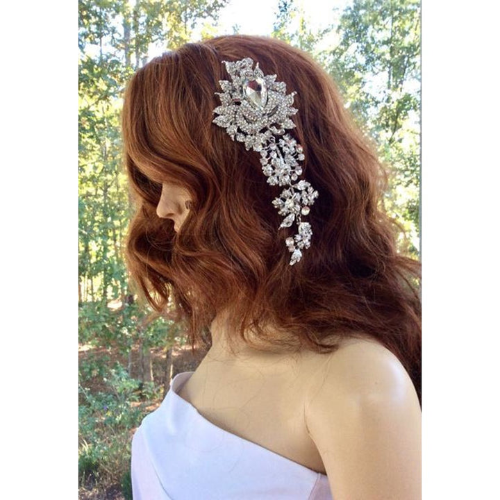 Bridal Hair Comb - SALE LAB