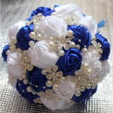 Crystal & Pearls Bouquet - SALE LAB