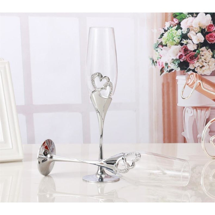 2 PCS Wedding Toasting Flutes - SALE LAB