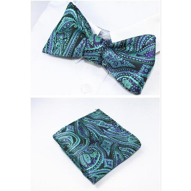 Bowtie and Hanky Set - SALE LAB