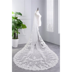 Cathedral Wedding Veil - SALE LAB