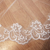 Lace Edge Bridal Veil - SALE LAB