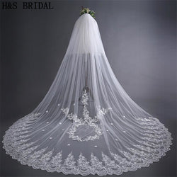 3.5 meters Cathedral Wedding Veil - SALE LAB