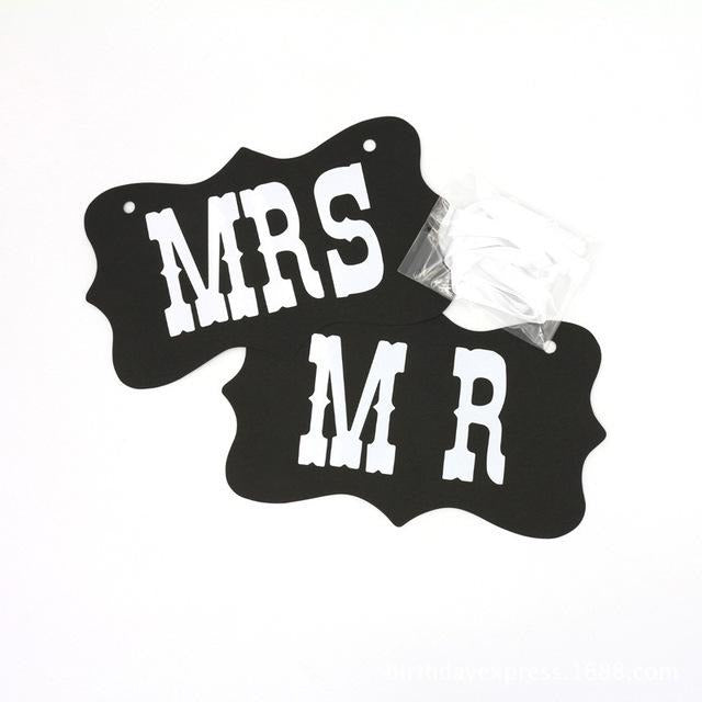 Mr and Mrs Decoration - SALE LAB