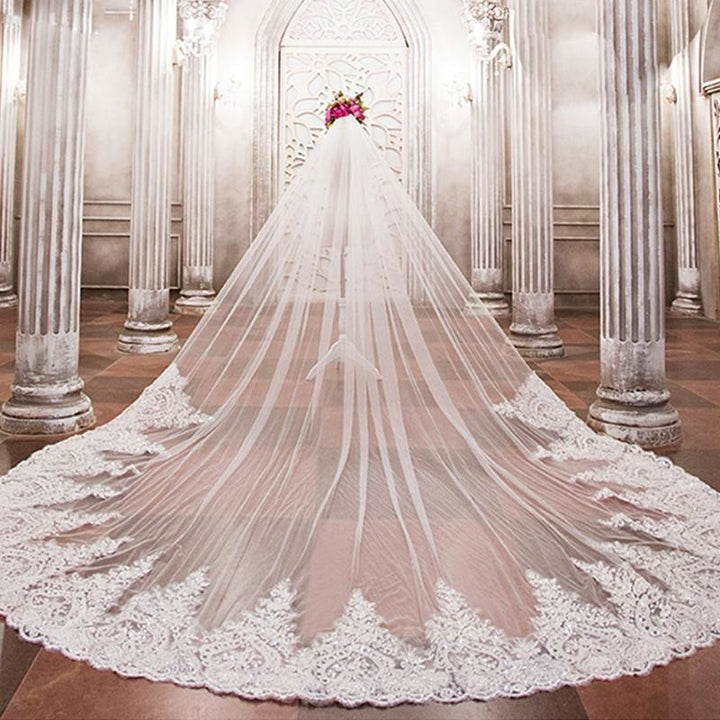 Waterfall Cathedral Veil - SALE LAB