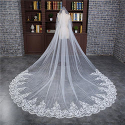 3 Meters Cathedral Veil with Comb