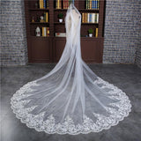 3 Meters Cathedral Veil with Comb - SALE LAB