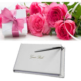 Wedding Guest Book with Silver Pen