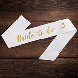 Satin Bride to Be Sash - SALE LAB