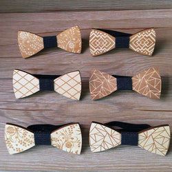 Gentleman Groom Wooden Necktie - SALE LAB