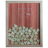 Wooden Frame Guest Book - SALE LAB