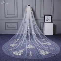 3 Meter One Layer Lace Wedding Vail - SALE LAB