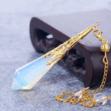 Natural Opal Pendulum - SALE LAB