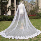 Cathedral Length Wedding Cape - SALE LAB