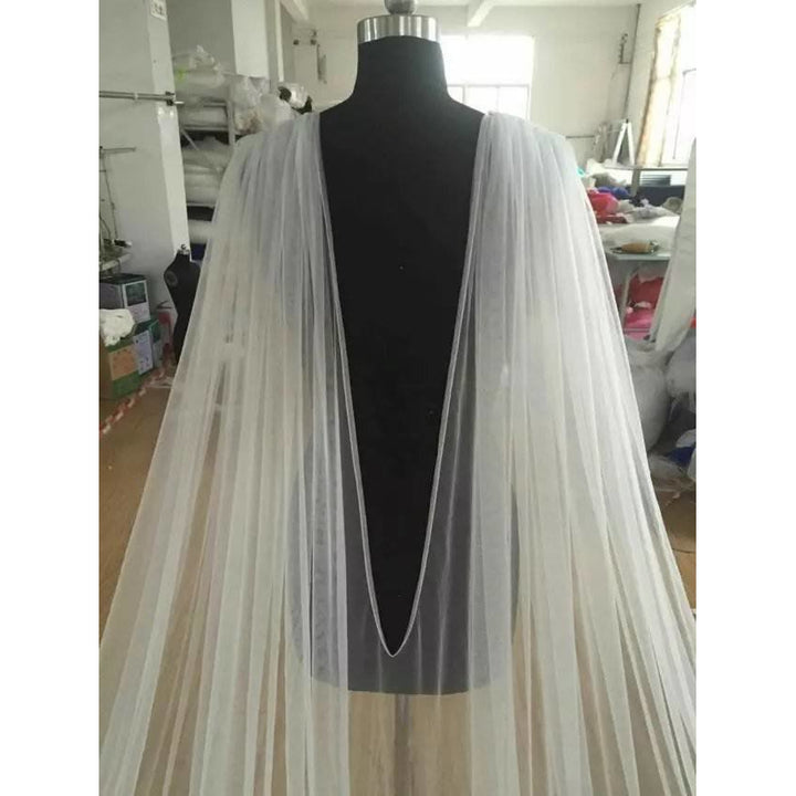 Cathedral Bridal Cape - SALE LAB
