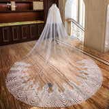 Two Layer 3.5 Meter Cathedral Wedding Veil - SALE LAB