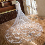 3.5 Good Luck Swallow Bridal Veil - SALE LAB