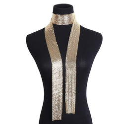 Punk Statement Sequins Necklace - SALE LAB