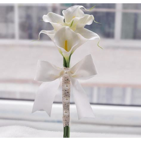 Calla Bridal Bouquet - SALE LAB