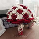 Handmade Bridal Bouquet - SALE LAB