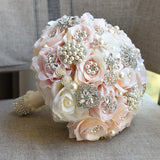 Stunning Crystal Bridal Bouquets - SALE LAB