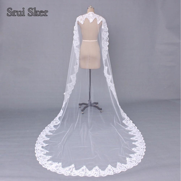 3 Meter Lace Veil - SALE LAB