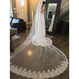 3 Meters Brilliant Sequins Cathedral Veil - SALE LAB