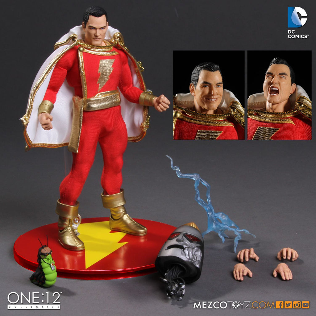 Mezco One:12 Collective - Shazam 1:12 Scale Action Figure Coming Soon