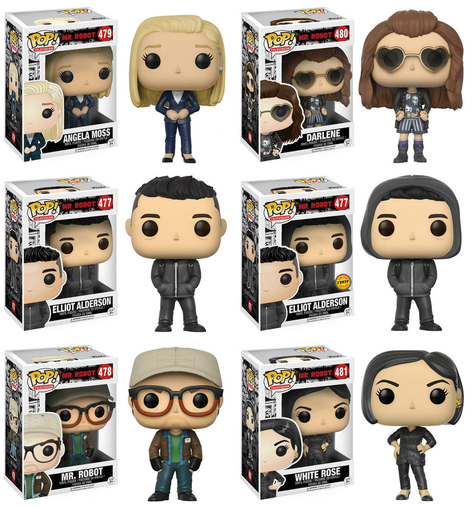 Funko Announces Mr. Robot Pop!s