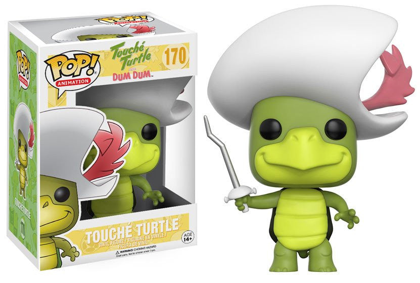 Funko Animation Pop! Hanna Barbera - Touche Turtle #170 - Videguy Collectibles