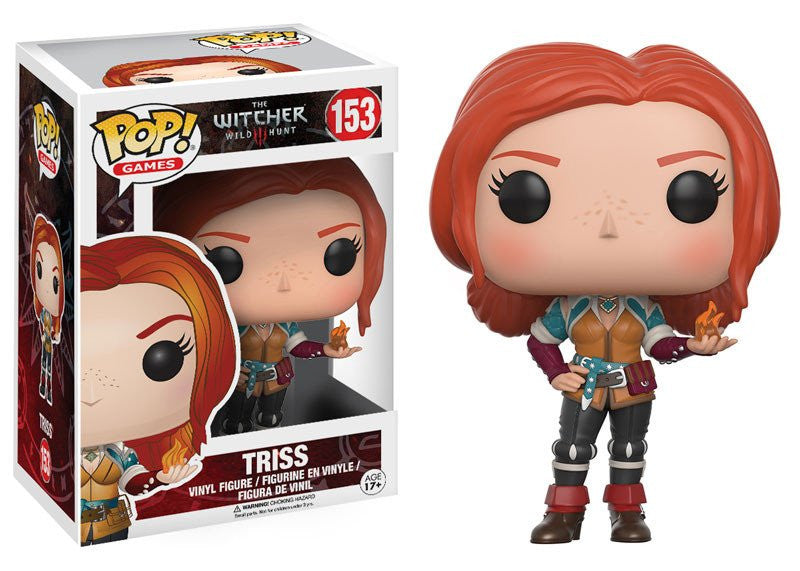 Funko Game Pop! The Witcher III Wild Hunt - Triss #153