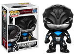 Set of 5 Power Rangers Movie Pop!s - Black Ranger, Blue Ranger, Red Ranger, Pink Ranger, and Yellow Ranger