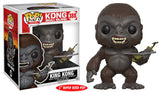 Funko Movies Pop! Kong Skull Island - King Kong #388 Giant 6 in - Videguy Collectibles