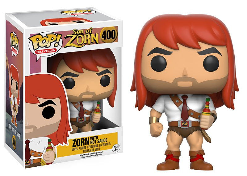 Funko Television Pop! Son of Zorn - Zorn w/ Hot Sauce #400 - Videguy Collectibles