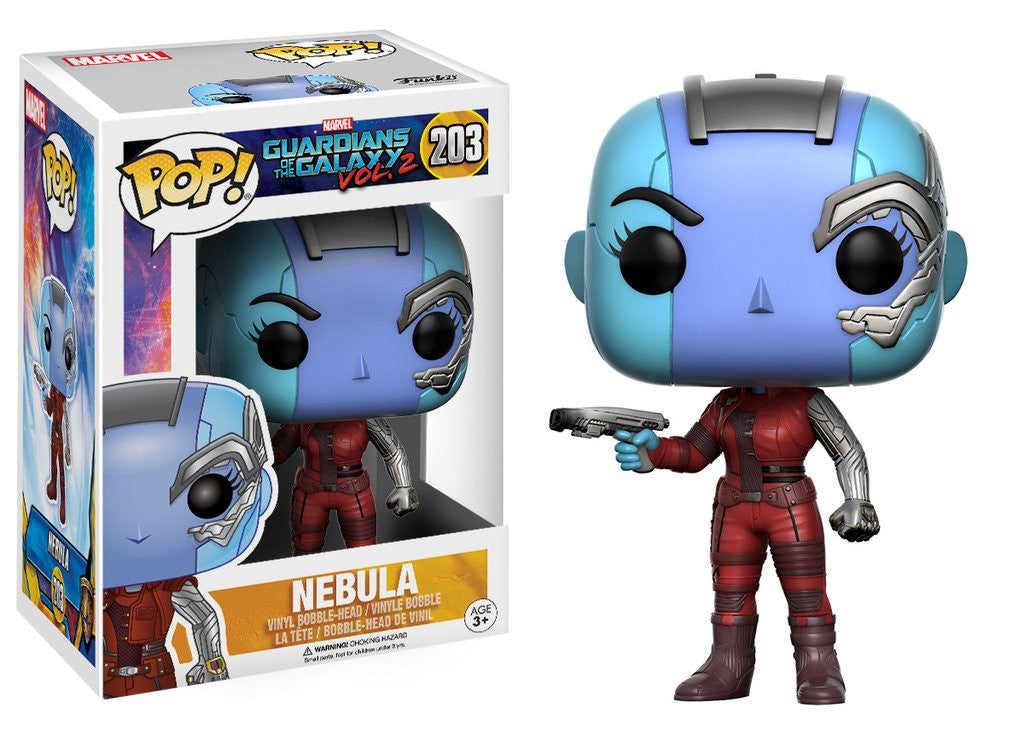 Funko Movie Pop! Guardians of the Galaxy 2 - Nebula #203 - Videguy Collectibles