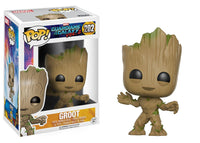 Funko Movie Pop! Guardians of the Galaxy 2 - Groot #202 - Videguy Collectibles